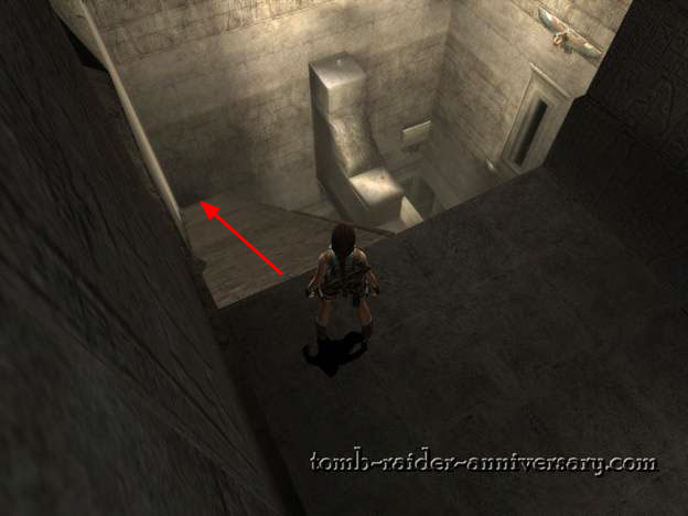 Tomb Raider Anniversary Obelisk of Khamoon walkthrough screenshot
