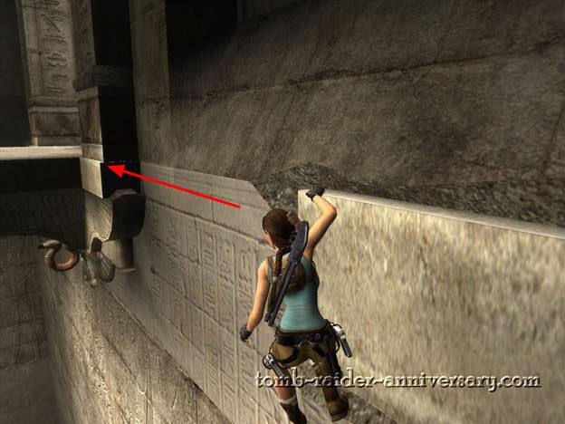 Tomb Raider Anniversary Obelisk of Khamoon walkthrough screenshot