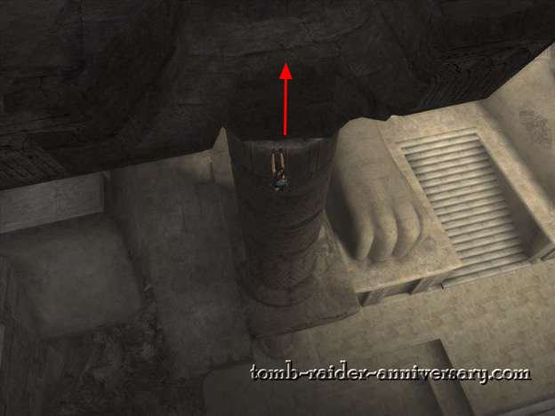 Tomb Raider Anniversary Sanctuary of the Scion walkthrough screenshot