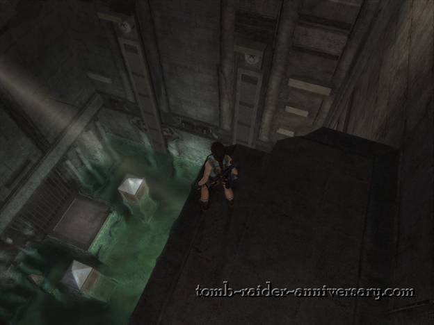 Tomb Raider Anniversary Sanctuary of the Scion walkthrough screenshot