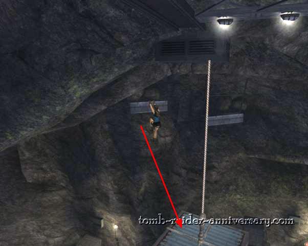 Tomb Raider Anniversary Natla's Mines walkthrough screenshot