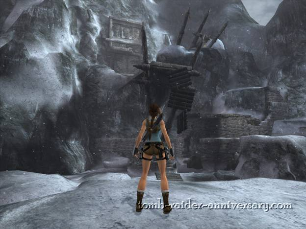 Tomb Raider Anniversary - Peru: Mountain Caves - First view of the mountain