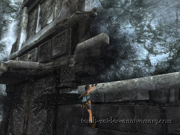 Tomb Raider Anniversary - Peru: Mountain Caves - Almost reached the button