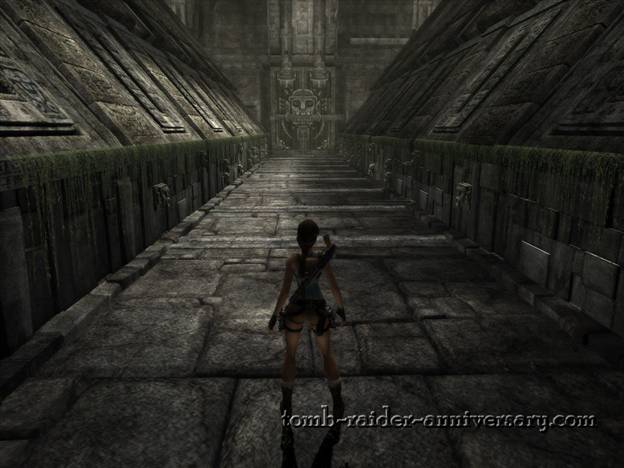 Tomb Raider Anniversary - Peru: Mountain Caves - Roll past the dart traps