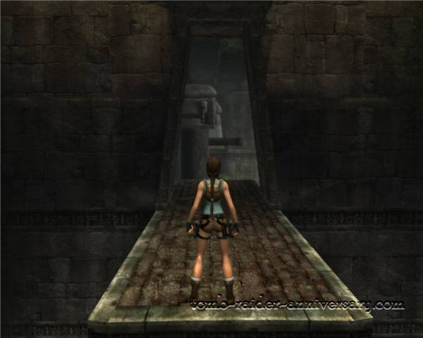 Tomb Raider Anniversary - Peru: City of Vilcabamba - Jump and grab the lever