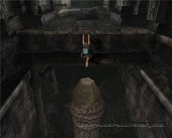 Tomb Raider Anniversary - Peru: City of Vilcabamba - Go through the hallway, and you're off to level 3