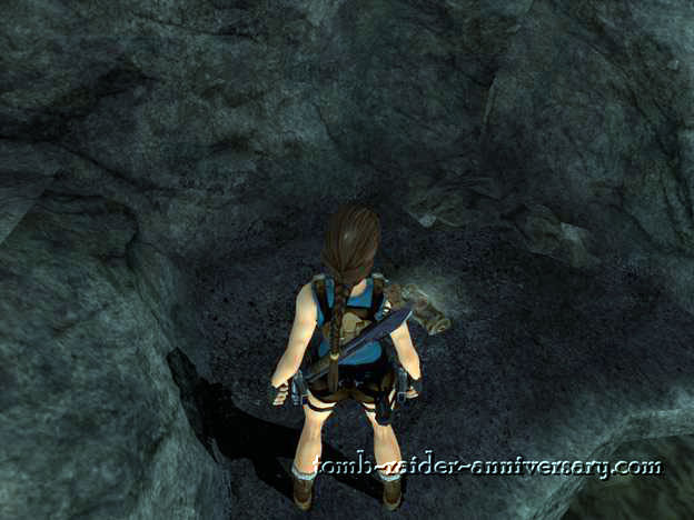 Tomb Raider Anniversary - Peru: The Lost Valley - Secret area with a medikit