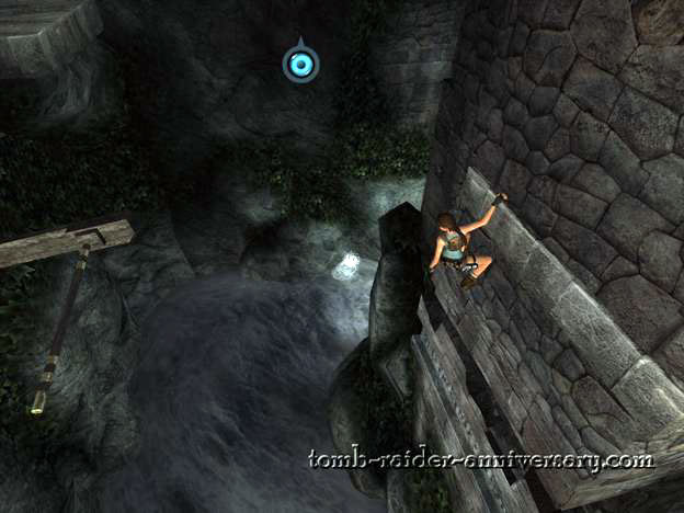 Tomb Raider Anniversary - Peru: The Lost Valley - Grab the metal thing