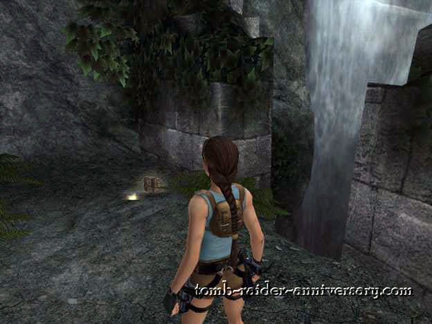 Tomb Raider Anniversary - Peru: The Lost Valley - The shotgun and the medikit