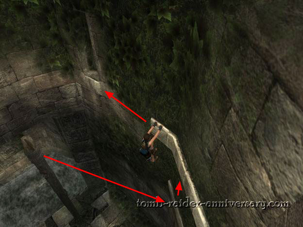 Tomb Raider Anniversary - Peru: The Lost Valley - Exit out the window on top