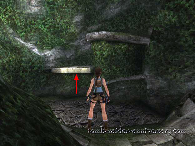 Tomb Raider Anniversary - Peru: The Lost Valley - Take the path on the left