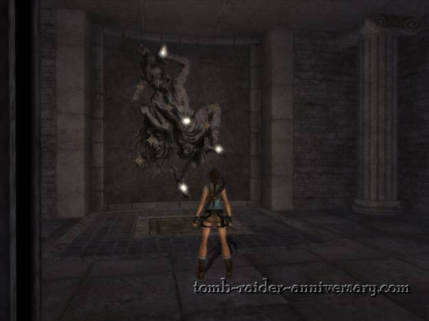 Tomb Raider Anniversary St Francis Folly Walkthrough step on the pad in front to reset