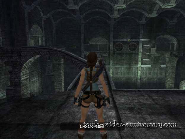 Tomb Raider Anniversary Tomb of Tihocan walkthrough screenshot
