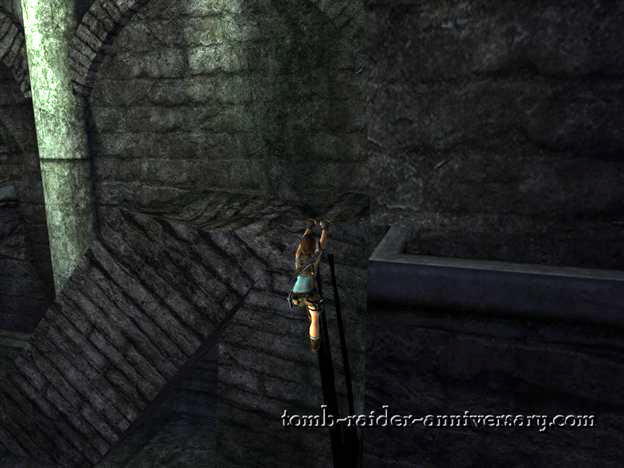 Tomb Raider Anniversary Tomb of Tihocan walkthrough screenshot