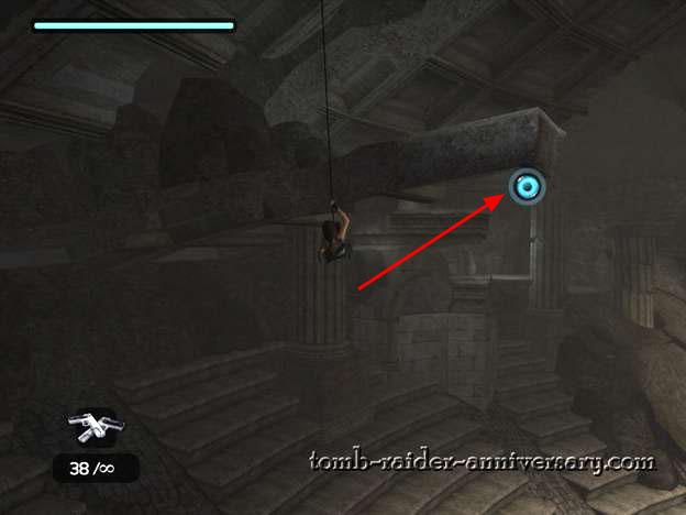 Tomb Raider Anniversary Coliseum Walkthrough secrets