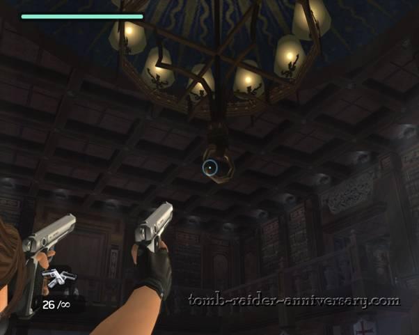 Tomb Raider Anniversary Croft Manor Walkthrough artifact