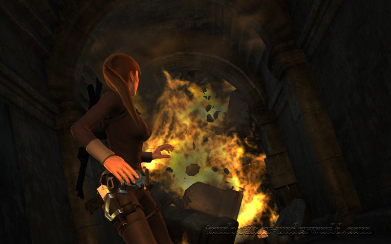 Tomb Raider Underworld Prologue walkthrough Lara screenshot