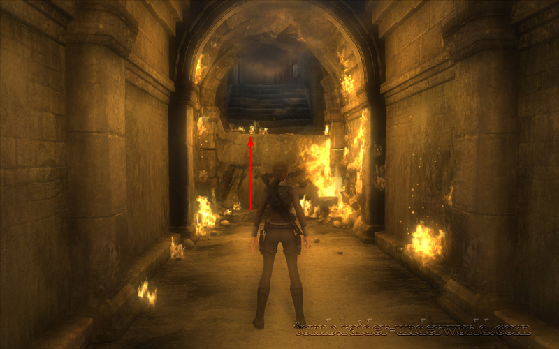 Tomb Raider Underworld Prologue walkthrough climb screenshot