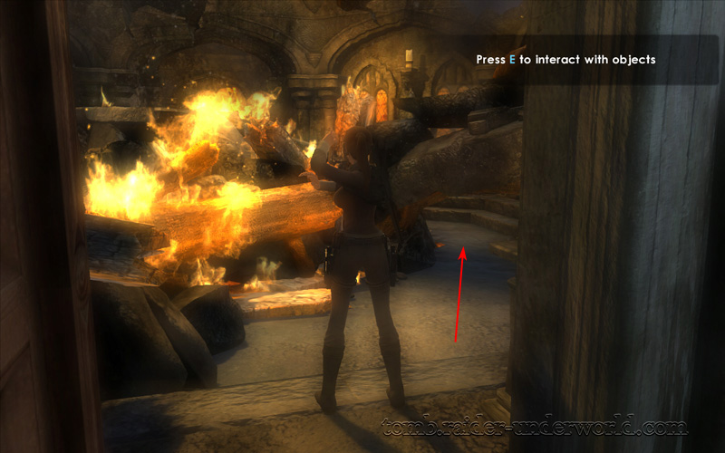 Tomb Raider Underworld Prologue walkthrough door through screenshot
