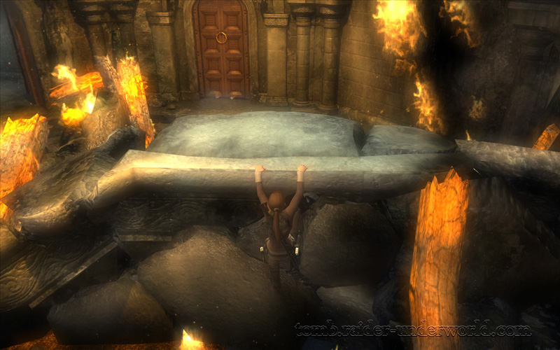 Tomb Raider Underworld Prologue walkthrough rubble screenshot