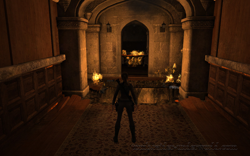 Tomb Raider Underworld Prologue walkthrough ceiling screenshot