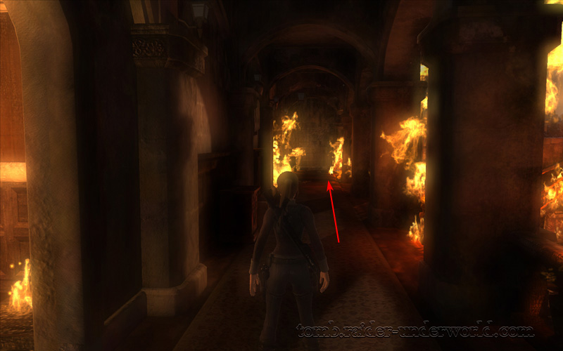 Tomb Raider Underworld Prologue walkthrough corridor screenshot