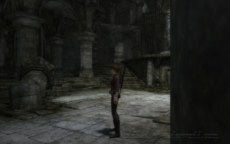Tomb Raider Underworld walkthrough Croft Manor screenshot