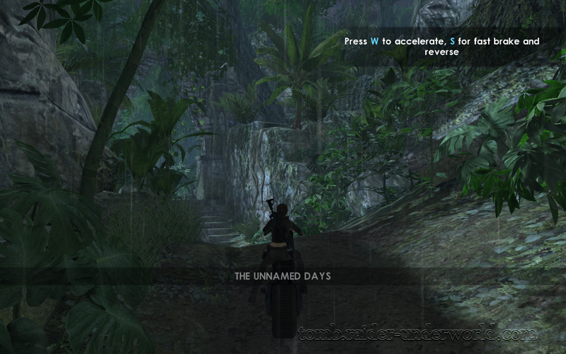 Tomb Raider Underworld walkthrough Southern Mexico - The unnamed days screenshot