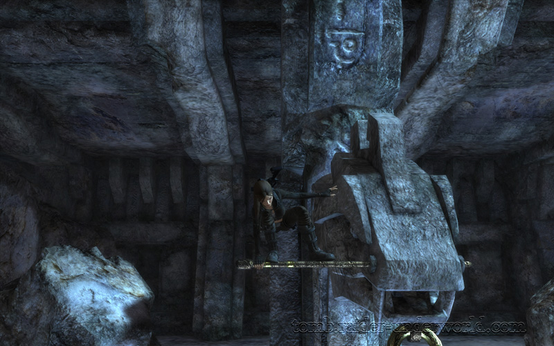 Tomb Raider Underworld walkthrough Southern Mexico - The Midgard Serpent screenshot