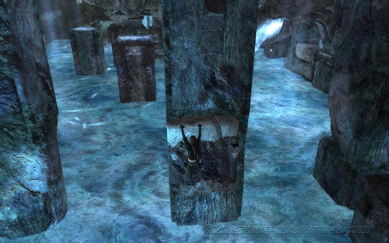 Tomb Raider Underworld walkthrough Southern Mexico - The Midgard Serpent screenshot