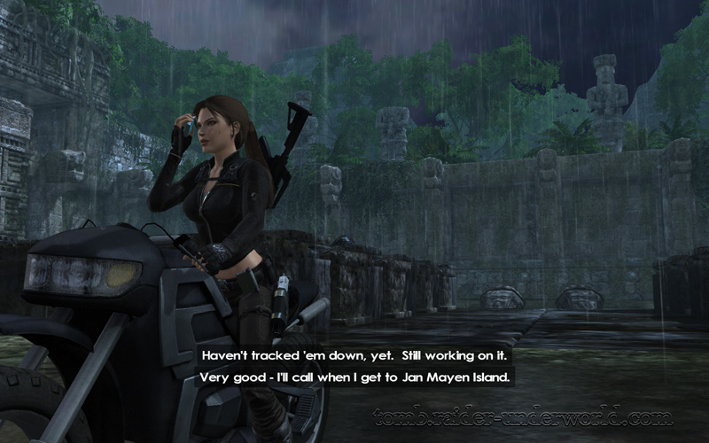 Tomb Raider Underworld walkthrough Southern Mexico - Land of the dead screenshot