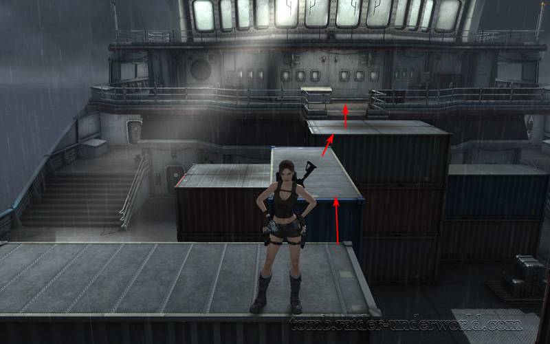 Tomb Raider Underworld walkthrough Andaman Sea - Rituals Old screenshot