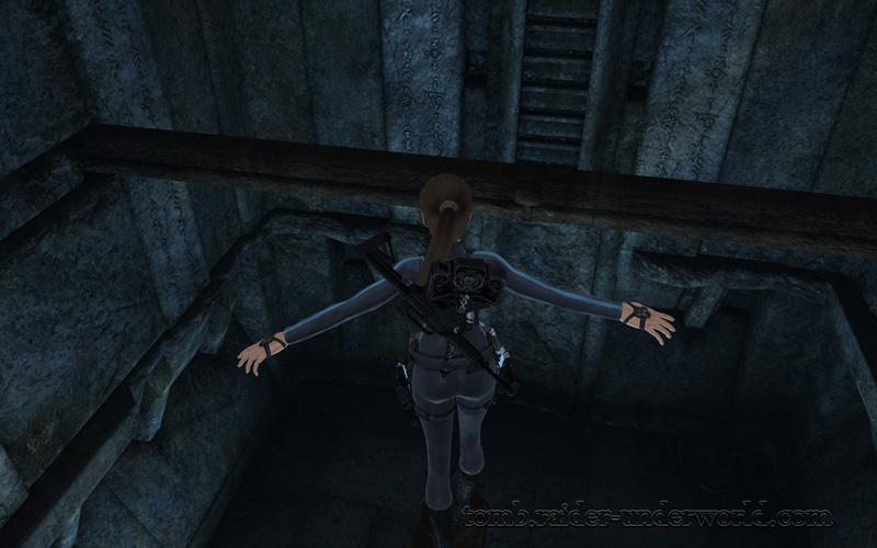 Tomb Raider Underworld walkthrough Arctic Sea - Helheim screenshot