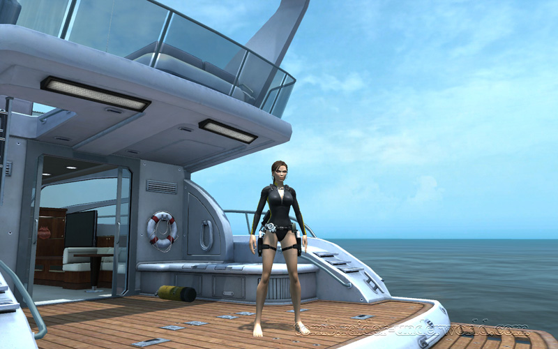 Tomb Raider Underworld walkthrough Mediterannean Sea - The Path to Avalon screenshot