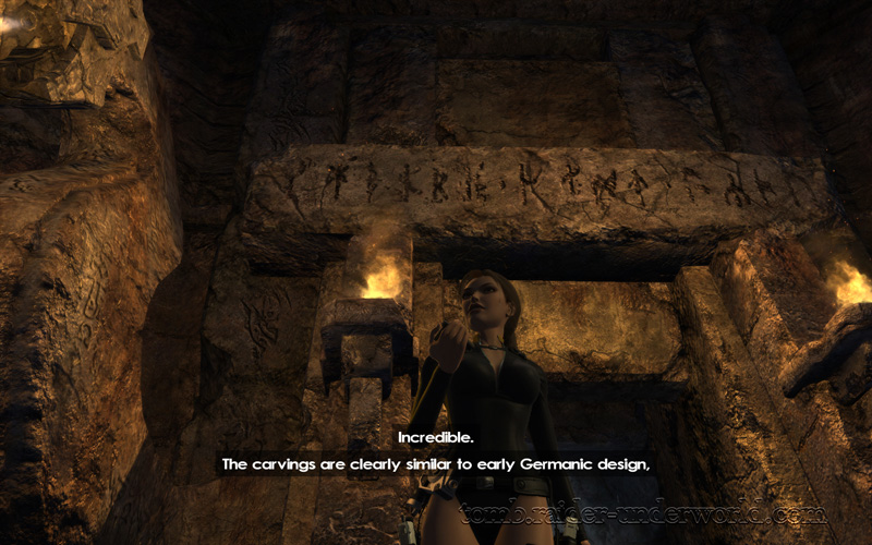 Tomb Raider Underworld walkthrough Mediterannean Sea - The Path to Avalon Nifleheim screenshot