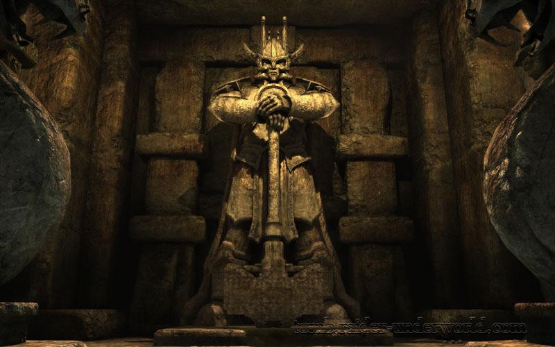 Tomb Raider Underworld walkthrough Mediteranean Sea - Niflheim screenshot