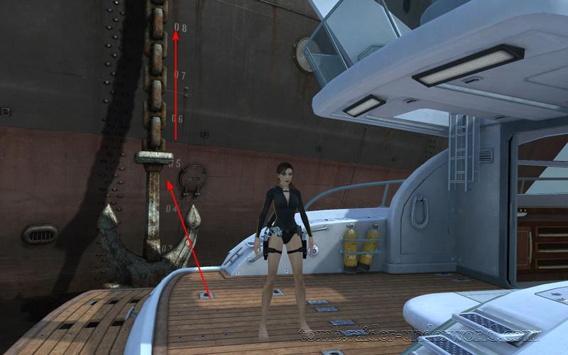 Tomb Raider Underworld walkthrough Mediteranean Sea - God of Thunder level start screenshot