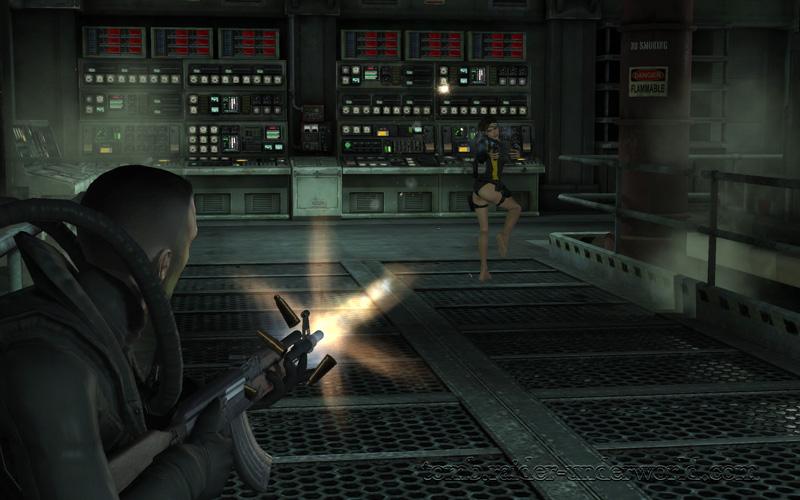 Tomb Raider Underworld walkthrough Mediteranean Sea - God of Thunder Lara ass screenshot