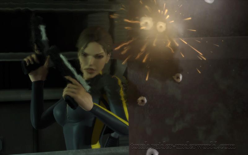 Tomb Raider Underworld walkthrough Mediteranean Sea - God of Thunder slaughter screenshot