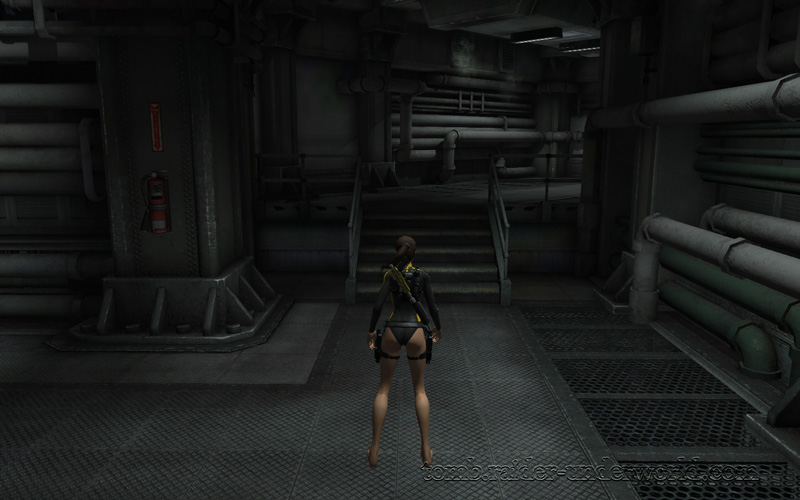 Tomb Raider Underworld walkthrough Mediteranean Sea - God of Thunder hallway screenshot