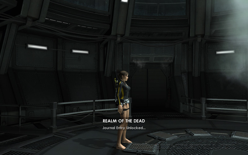 Tomb Raider Underworld walkthrough Mediteranean Sea - Realm of the Dead level start screenshot
