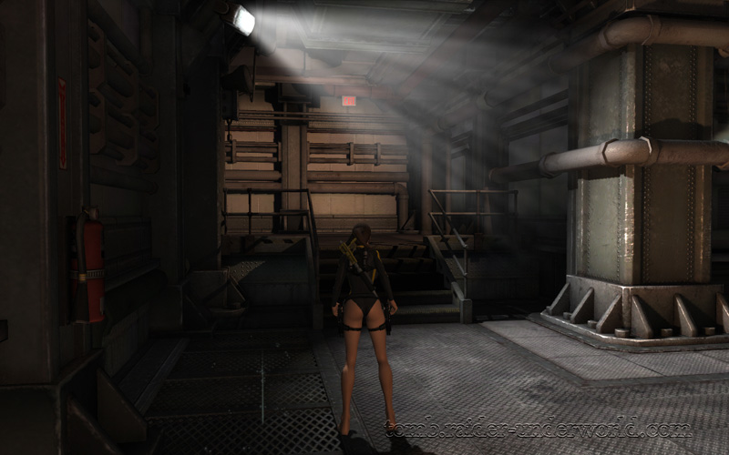 Tomb Raider Underworld walkthrough Mediteranean Sea - Realm of the Dead  luggage screenshot