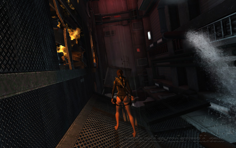 Tomb Raider Underworld walkthrough Mediteranean Sea - Realm of the Dead  corridor screenshot