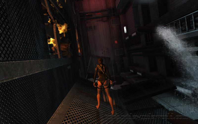 Tomb Raider Underworld walkthrough Mediteranean Sea - Realm of the Dead  corridor screenshot