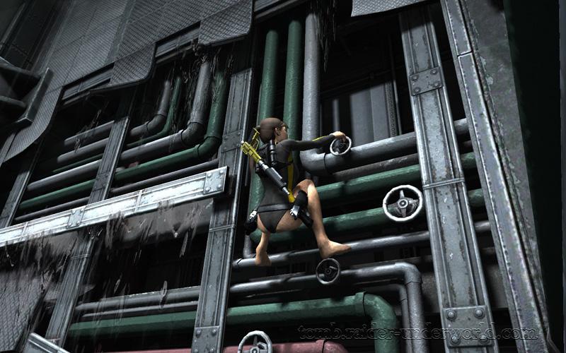 Tomb Raider Underworld walkthrough Mediteranean Sea - Realm of the Dead screenshot