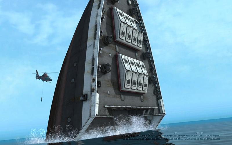 Tomb Raider Underworld walkthrough Mediteranean Sea - Realm of the Dead level end screenshot