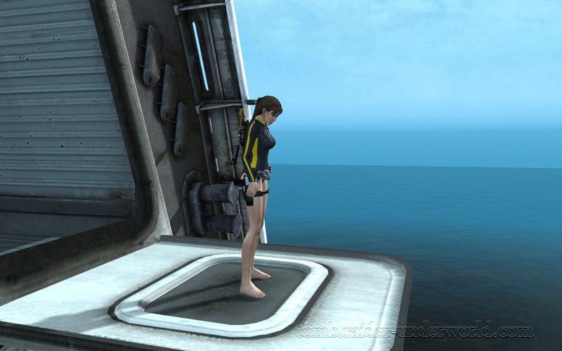 Tomb Raider Underworld walkthrough Mediteranean Sea - Realm of the Dead cinematic screenshot