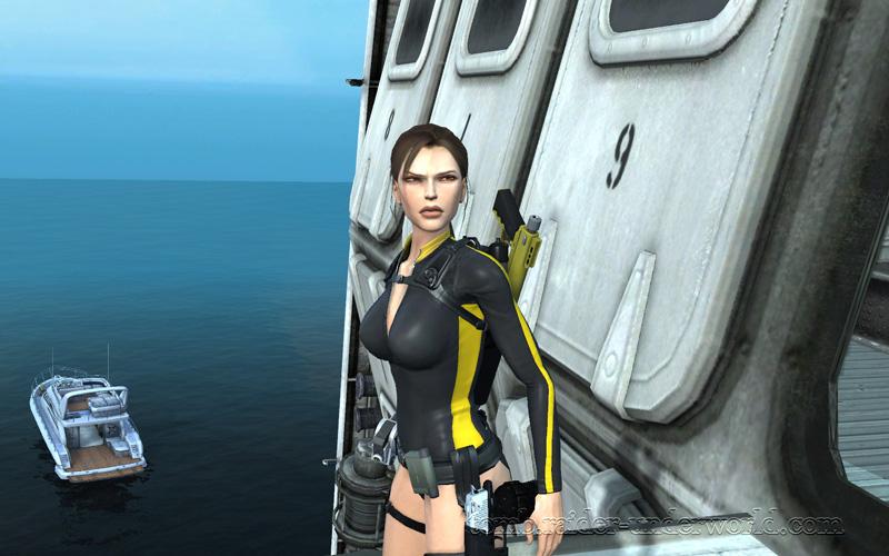 Tomb Raider Underworld walkthrough Mediteranean Sea - Realm of the Dead Lara cinematic screenshot