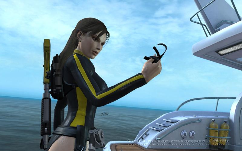 Tomb Raider Underworld walkthrough Mediteranean Sea - Realm of the Dead Lara artifact screenshot