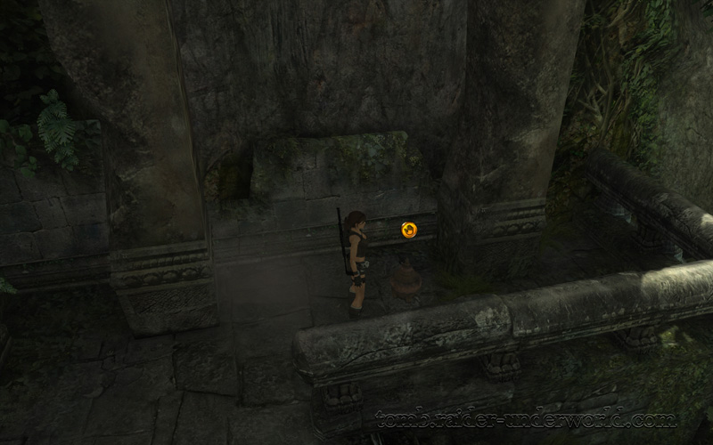 Tomb Raider Underworld walkthrough Coastal Thailand - Remnants artifact 2 screenshot